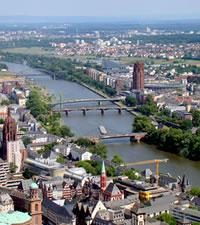 Francoforte, la città tedesca dei grattacieli