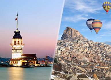 Istanbul, Bursa, Ankara e Cappadocia Al Completo