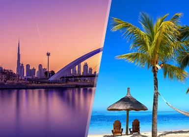 Emirati ed Isole dell'Oceano Indiano: Dubai e Mauritius