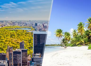 Stati Uniti e Repubblica Dominicana: New York e Punta Cana