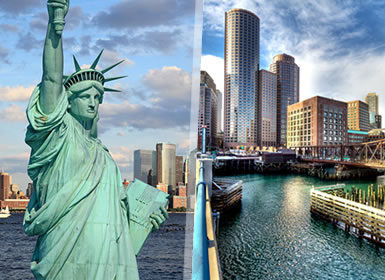 Stati Uniti: New York e Boston