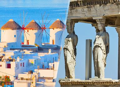Grecia: Atene e Mykonos in aereo