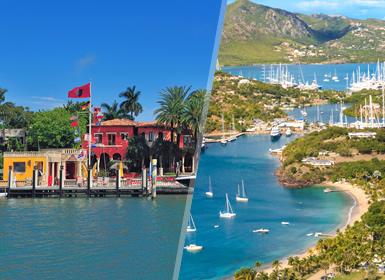 Stati Uniti e Antigua (Picole Antille): Miami e Antigua