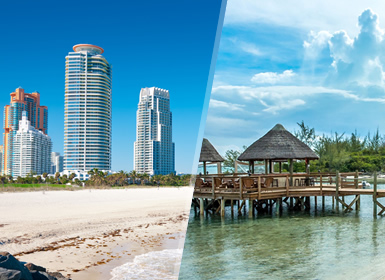 Stati Uniti e Bahamas: Miami e New Providence