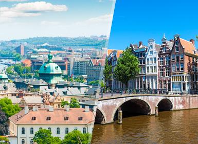 Praga, Innsbruck, Francoforte ed Amsterdam Essenziale A Modo Tuo