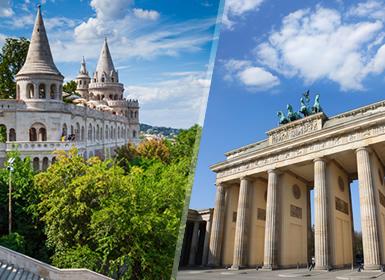 Berlino, Praga, Vienna e Budapest Al Completo A Modo Tuo