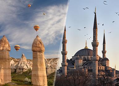Turchia: Istanbul, Ankara, Cappadoccia, Pamukkale e Çanakkale