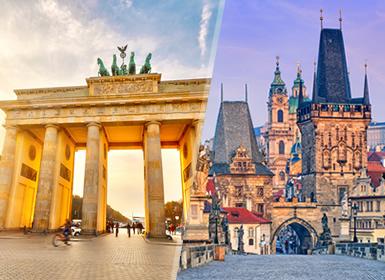 Europa Centrale: Berlino e Praga  in aereo