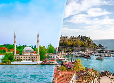 Turchia: Turchia con Antalya