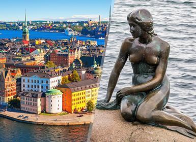 Nord Europa: Stoccolma e Copenaghen in aereo