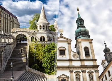 Praga, Budapest e Vienna Al Completo A Modo Tuo in treno