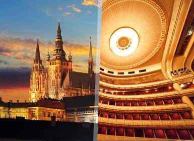 Praga, Vienna e Budapest Al Completo A Modo Tuo in treno