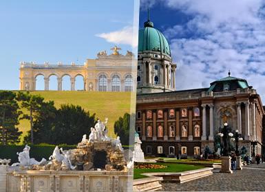 Vienna e Budapest Essenziale A Modo Tuo in treno - 7 Gironi