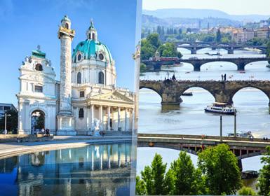 Vienna, Budapest e Praga Al Completo A Modo Tuo in treno - 8 Gironi
