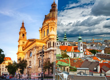 Vienna, Praga e Budapest Al Completo A Modo Tuo in treno