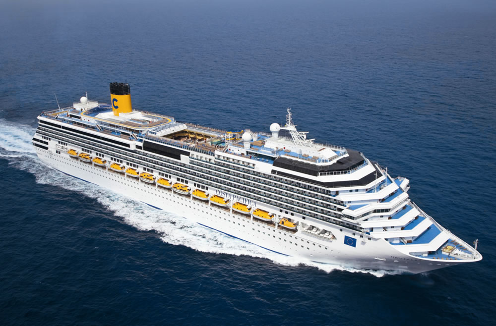 Ponti della nave costa deliziosa costa crociere for Nave pacifica
