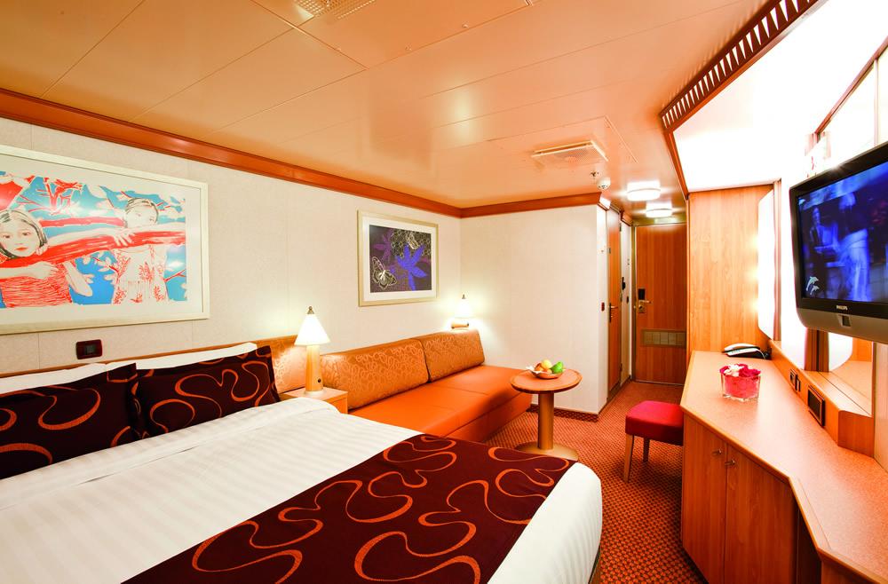Categorie e cabine della nave costa pacifica costa for Planimetrie della cabina del fienile