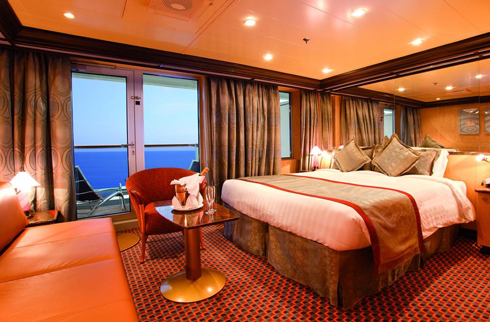 Categorie e cabine della nave costa pacifica costa for Costa pacifica ponti