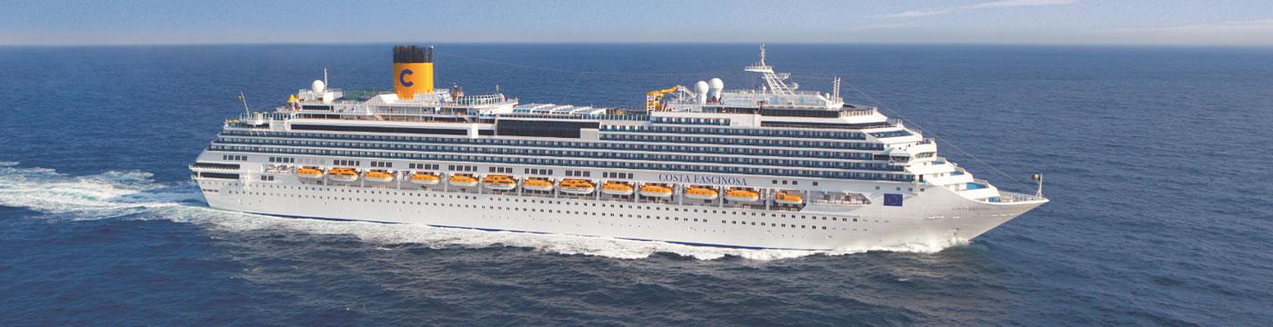 Categorie e cabine della nave costa fascinosa costa for Piano nave costa fascinosa