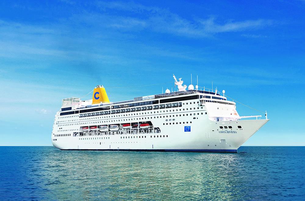 Ponti della nave costa deliziosa costa crociere for Costa neoriviera piano nave
