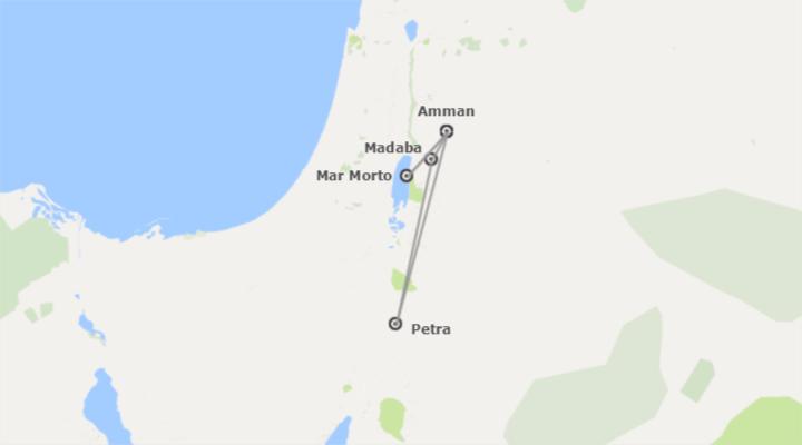 Giordania: Amman e Petra con Wadi Rum e Mar Morto