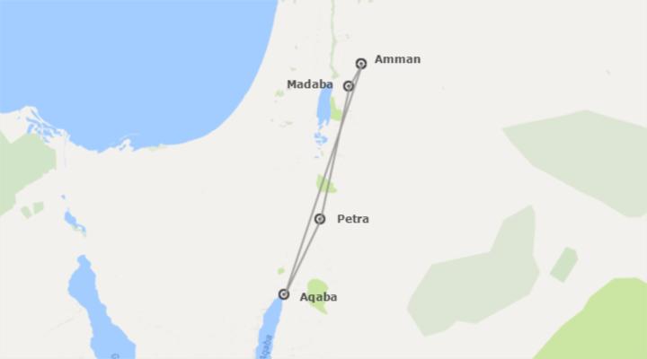 Giordania: Giordania con Aqaba