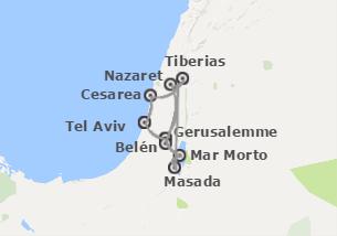 Israele: Israele con Masada e Mar Morto