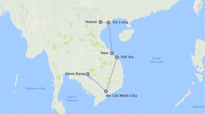 Vietnam e Cambogia: Vietnam e Cambogia