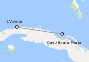 Cuba: L'Avana e Cayo Santa Maria