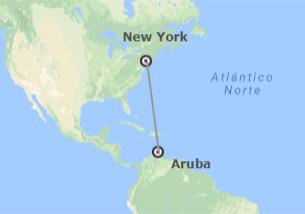 Stati Uniti ed Aruba (Piccole Antille): New York ed Aruba
