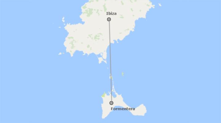 Spagna: Ibiza e Formentera in aereo