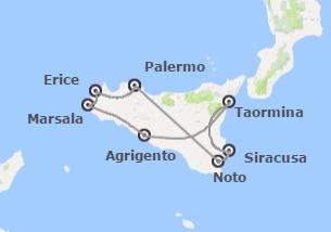 Sicilia: Sicilia da Palermo