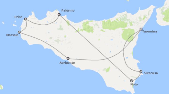 Italia: Sicilia da Palermo