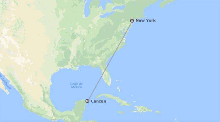 Stati Uniti e Messico: New York e Cancun