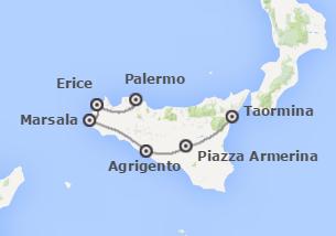 Sicilia: Da Palermo a Catania