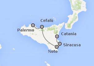 Sicilia: Da Catania a Palermo