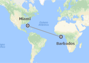 Stati Uniti e Barbados (Piccole Antille): Miami e Barbados