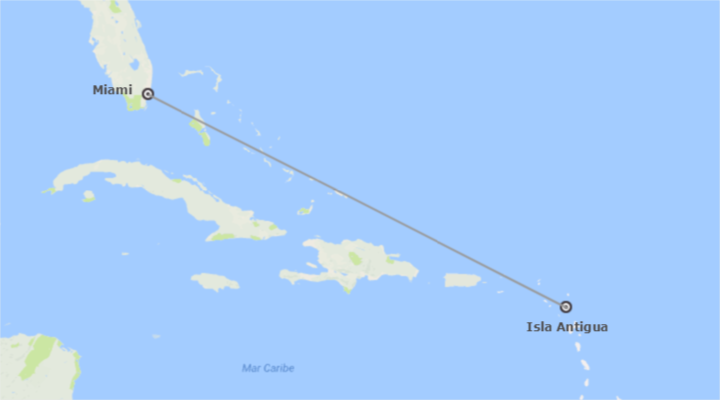 Miami e Antigua Essenziale A Modo Tuo