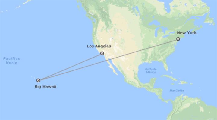 Stati Uniti: New York, Hawaii e Los Angeles
