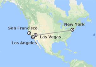 Stati Uniti: New York, Las Vegas, Los Angeles e San Francisco