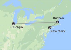 Stati Uniti: New York, Boston e Chicago