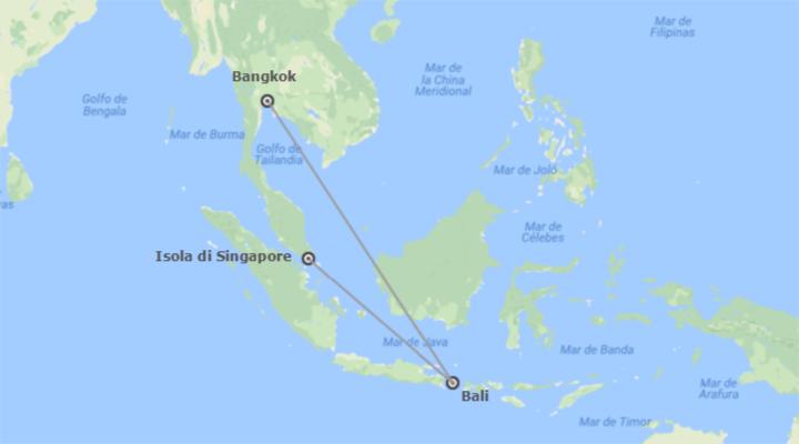 Thailandia, Indonesia e Singapore: Bangkok, Bali e Singapore