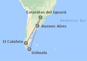 Argentina: Buenos Aires, Ushuaia, Calafate ed Iguazú