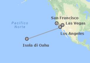 Stati Uniti: Las Vegas, San Francisco, Los Angeles e Honolulu
