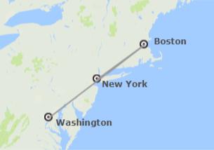 Stati Uniti: New York, Boston e Washington