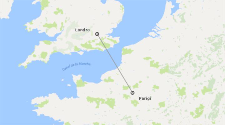 Sud Europa e Inghilterra: Parigi e Londra in aereo