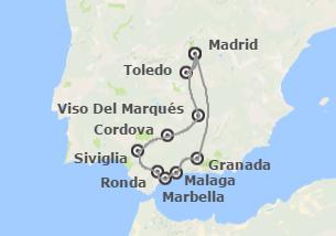 Spagna: Andalusia con Madrid
