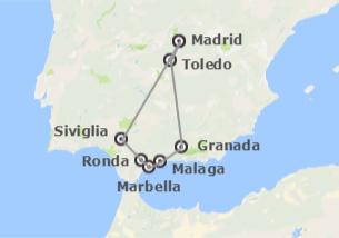 Spagna: Madrid e Andalusia in treno