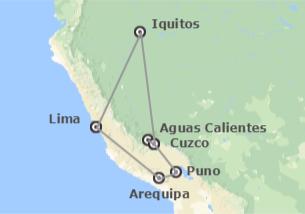 Perù: Perù con Arequipa, Titicaca ed Amazzonia