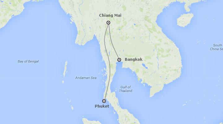 Thailandia: Bangkok, Chiang Mai e Phuket Essenziale
